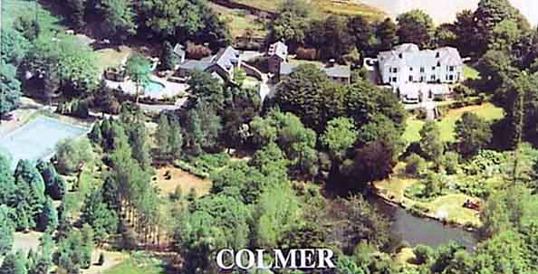 Aerial View of Colmer Estate