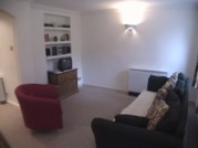 Living Room with Television, Video & Sofabed